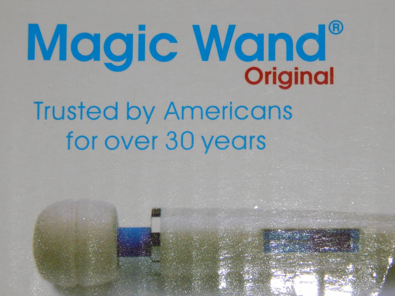 Универсальный вибромассажёр hitachi magic wand original 6 фотография