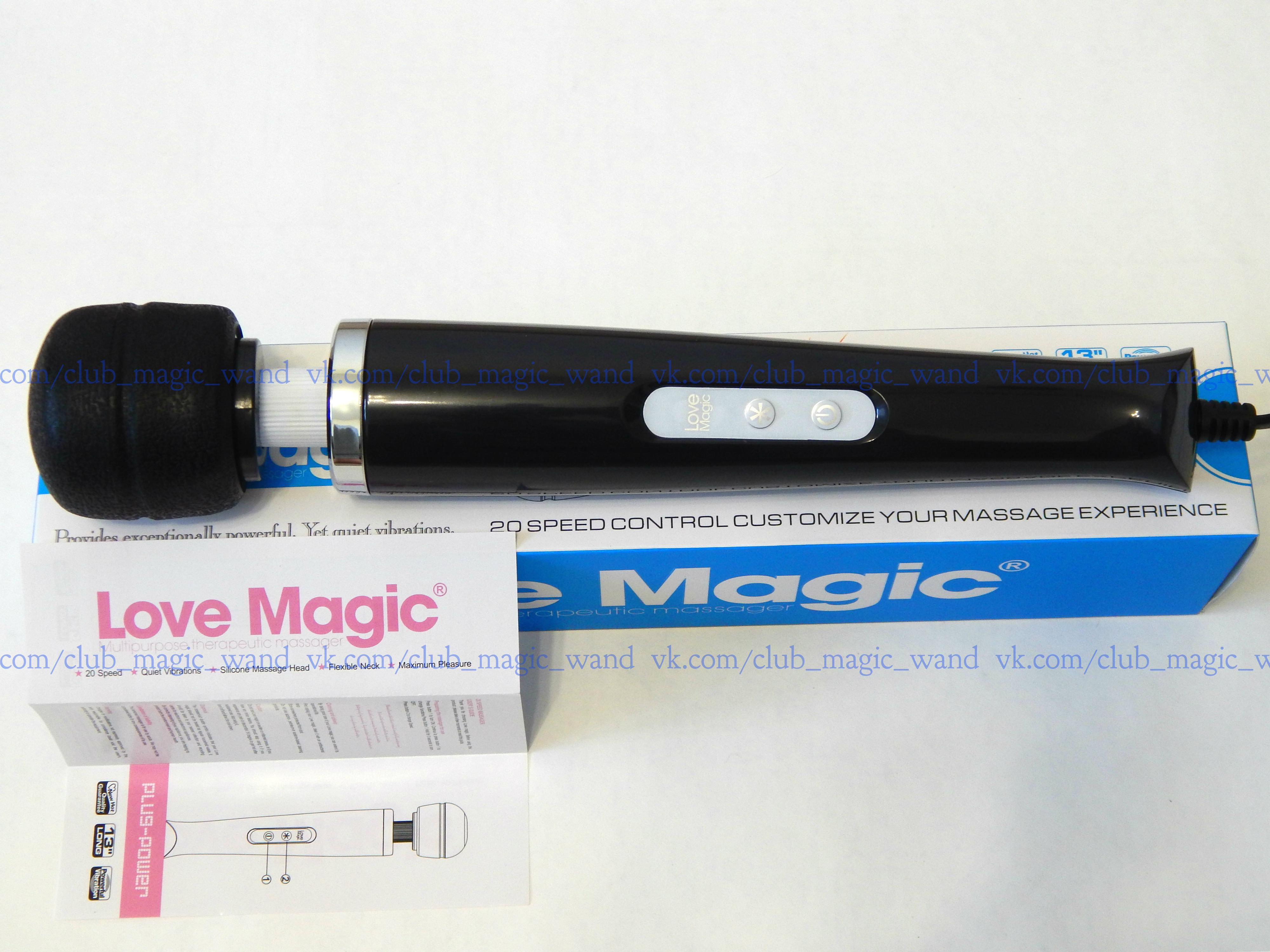Универсальный вибромассажёр hitachi magic wand original 20 фотография